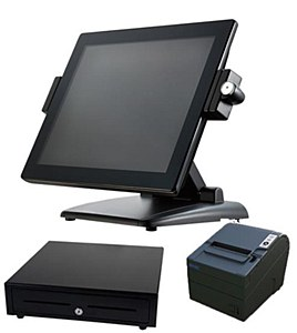 The stylish DataVan Glamor G615 EPoS terminal.
